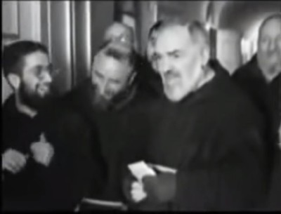 Youtube / Padre Pio – Rare Footage
